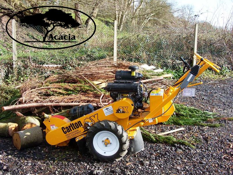 Carlton 2 Wheel Stump Grinder Hire