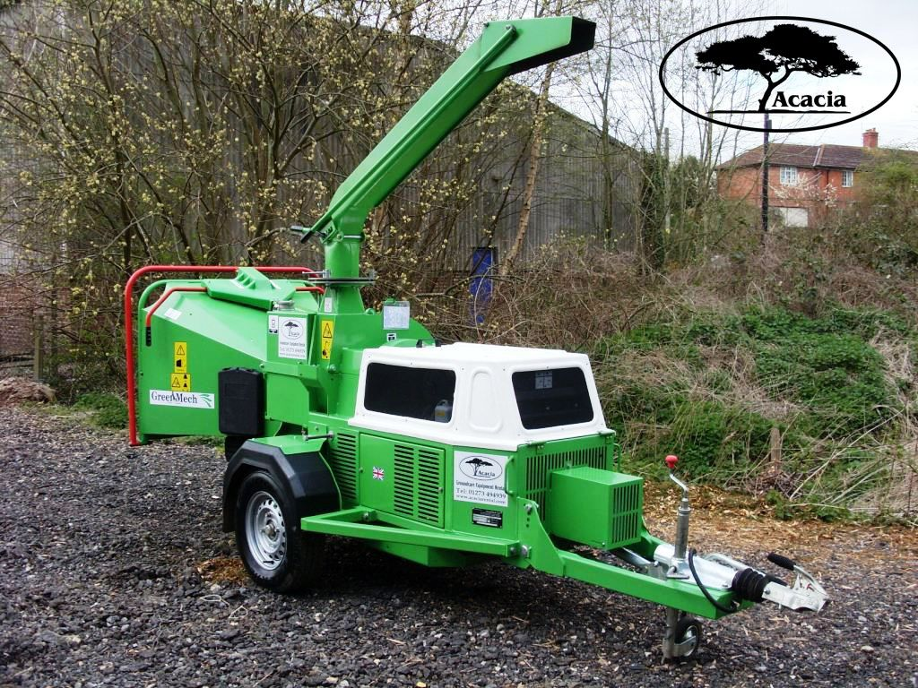 "Greenmech 8"" Towable Chipper Hire"