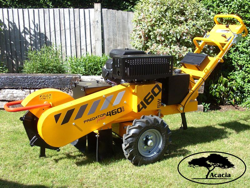 Predator 460 Stump Grinder Hire