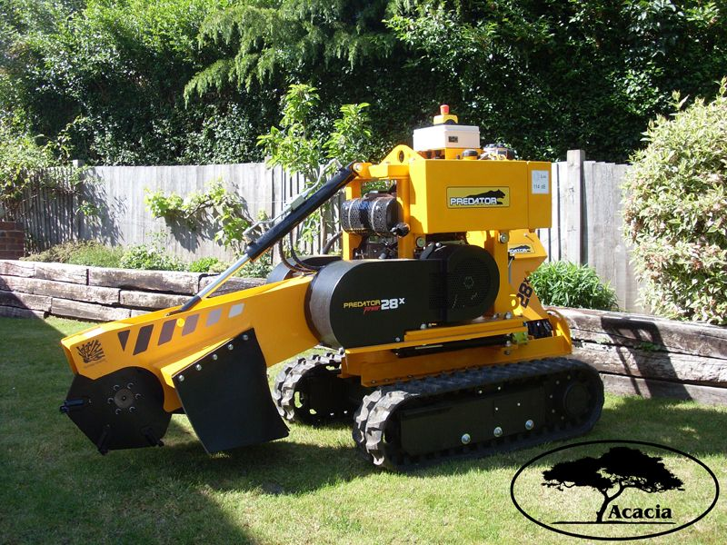 Predator P28X Tracked Stump Grinder Hire