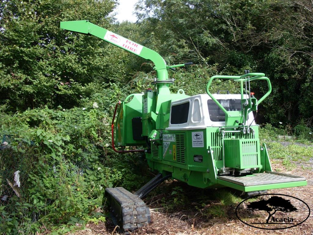 Greenmech Safetrak Chipper Hire