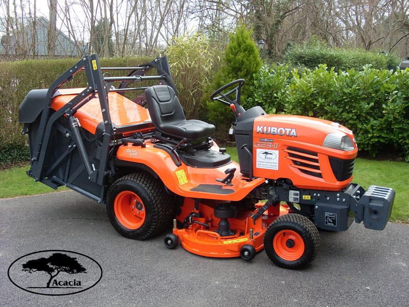 Kubota G23 Ride On Hi-Tip Mower Hire