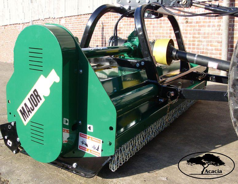 Major 2.3m Flail Shredder Mower Hire