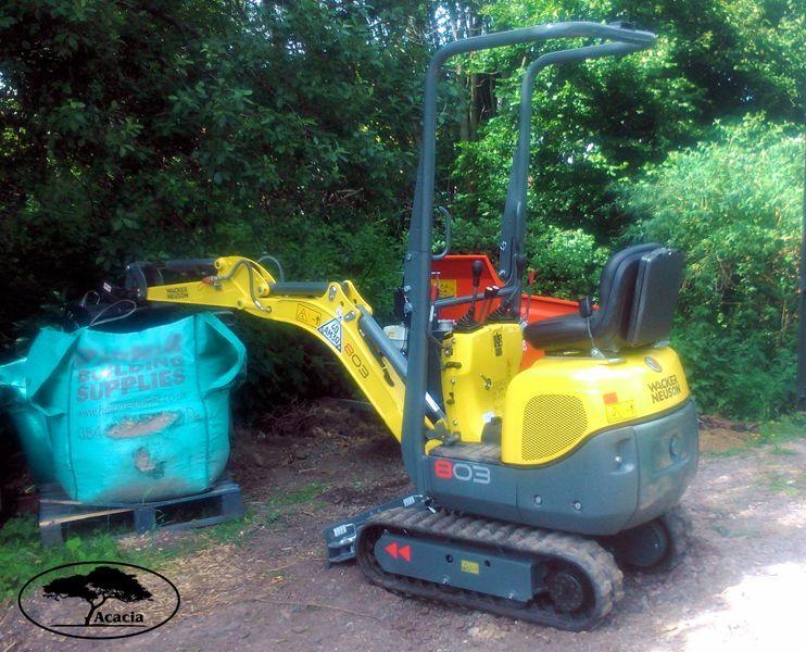 Wacker Neuson Slim Excavator Hire