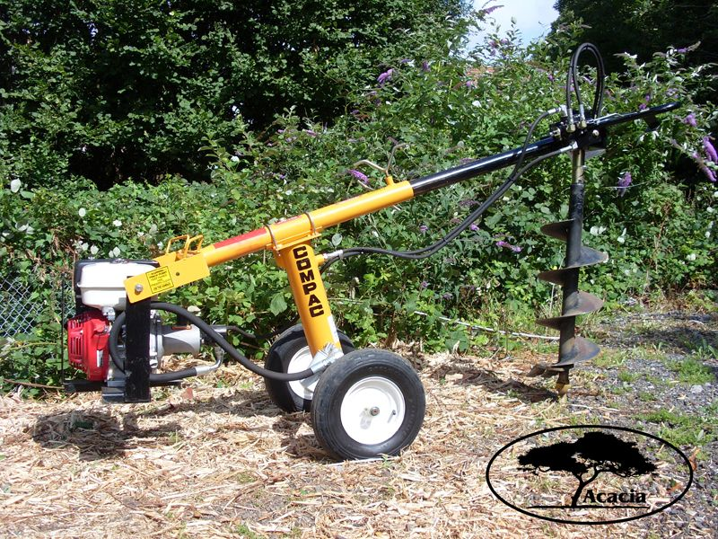 Compac Hydraulic Auger/Borer Hire