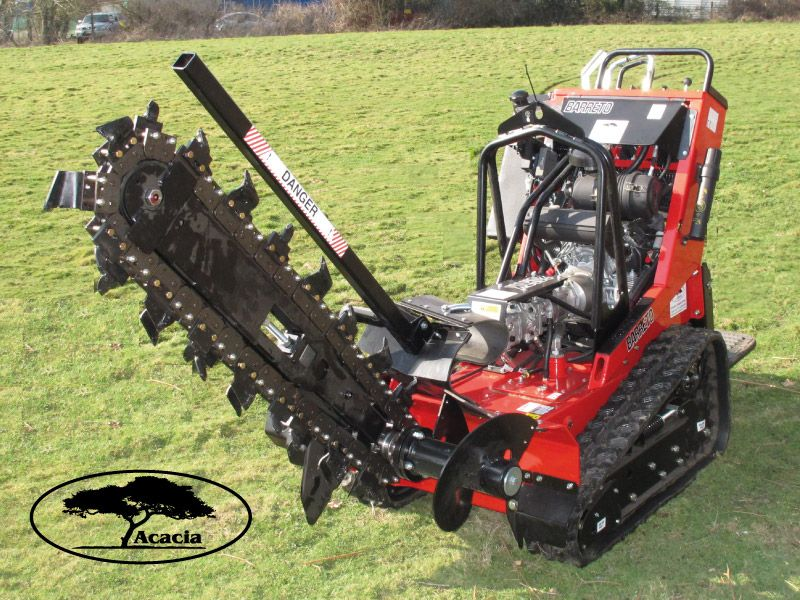 "36"" Tracked Barreto Hydraulic Trencher Hire"