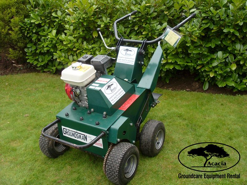 Groundsman Elliptical Aerator Hire