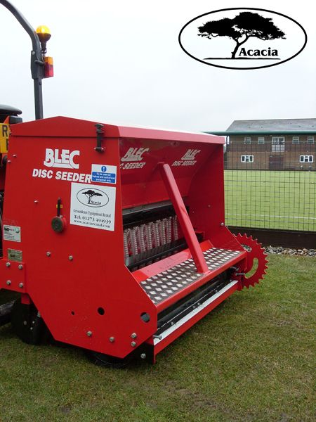 Blec Disc Over Seeder Hire