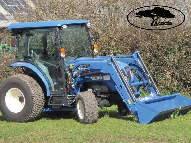 49Hp Iseki TG6490IQ Cabbed with Loader Hire