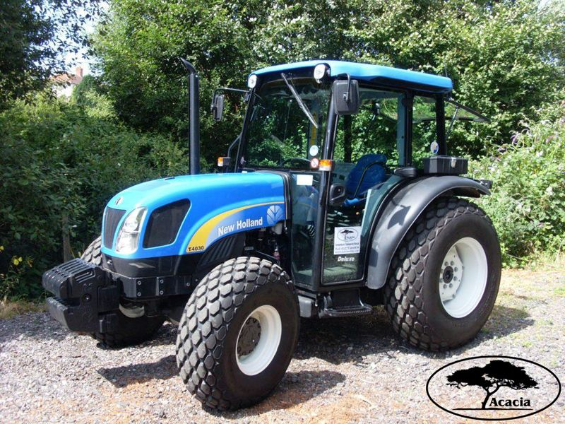 New Holland 78hp Compact Tractor Hire