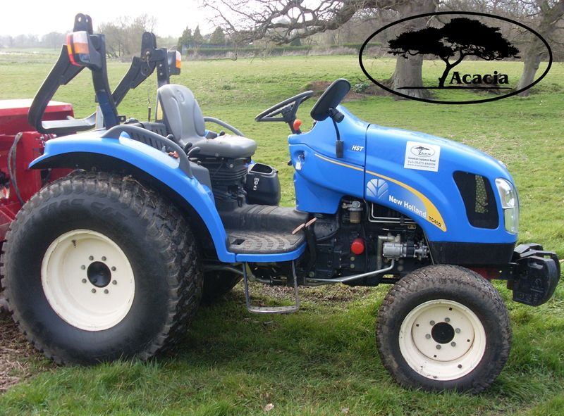 New Holland TC45 45hp Tractor Hire