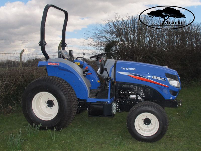 49Hp TG6495 ROPS Tractor Hire