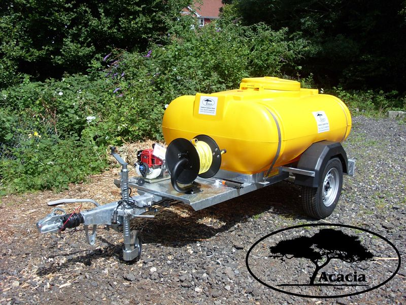 Hanging Basket Towed Water Bowser Hire
